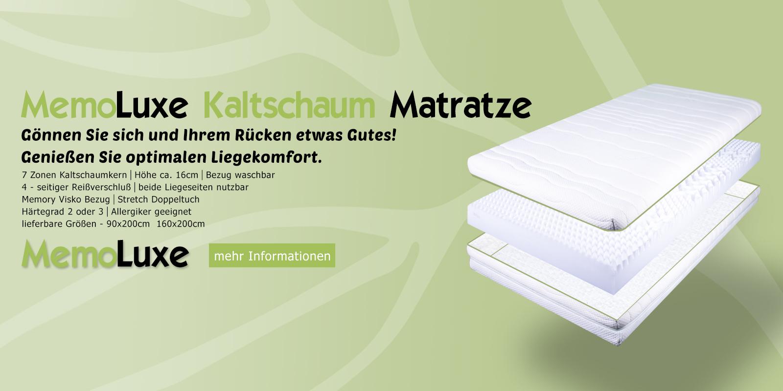 Kaltschaum Matratzen